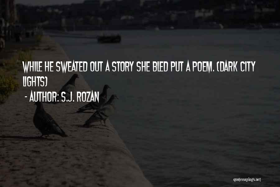 Are Short Stories Put In Quotes By S.J. Rozan