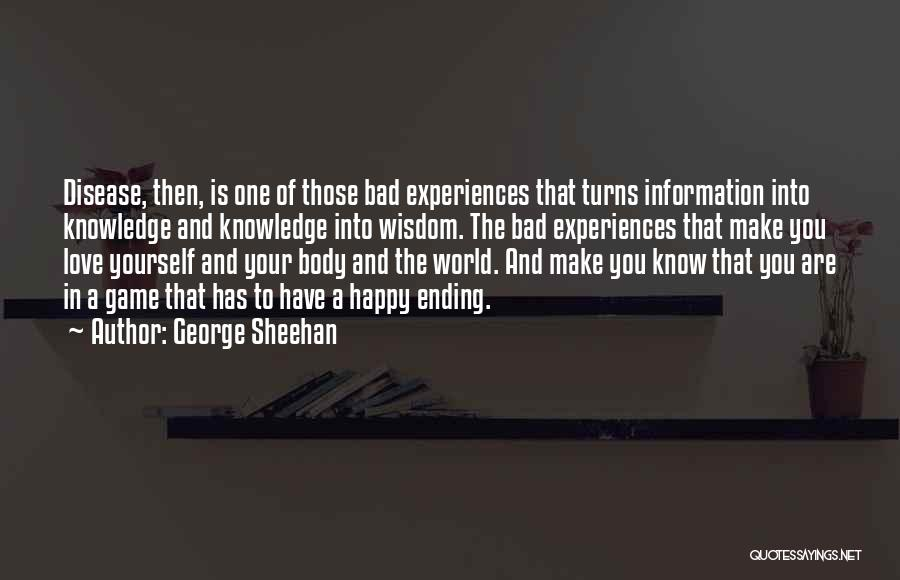 Are You Happy Quotes By George Sheehan