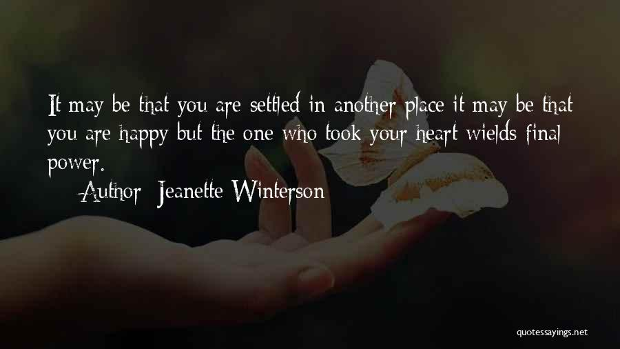 Are You Happy Quotes By Jeanette Winterson