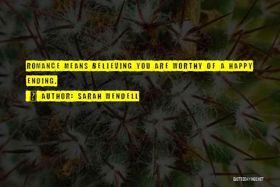 Are You Happy Quotes By Sarah Wendell