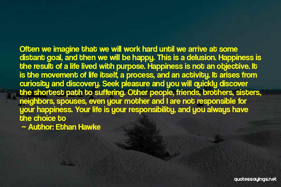 Are You Happy With Your Life Quotes By Ethan Hawke