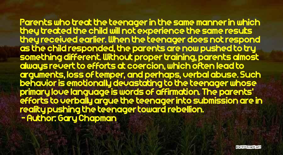 Argue And Love Quotes By Gary Chapman