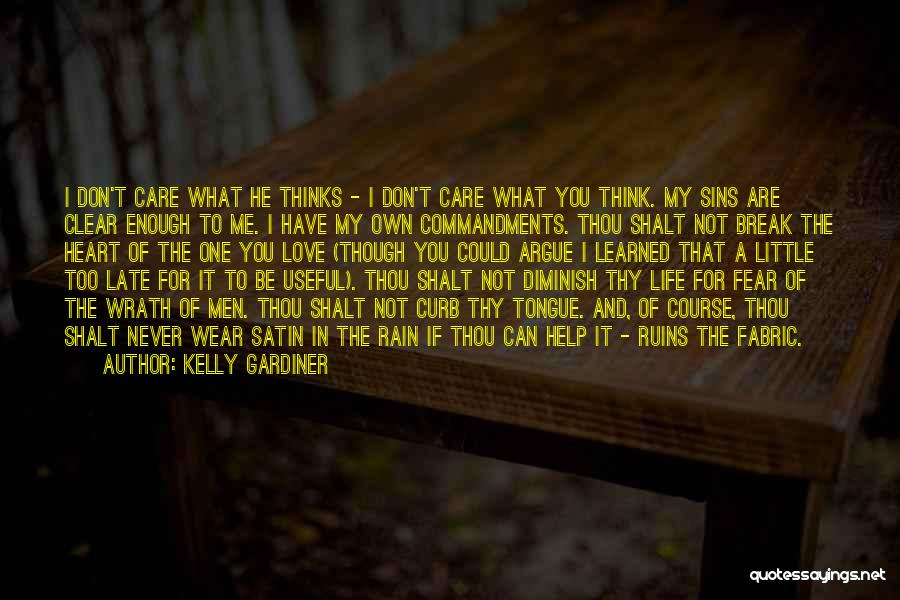 Argue And Love Quotes By Kelly Gardiner