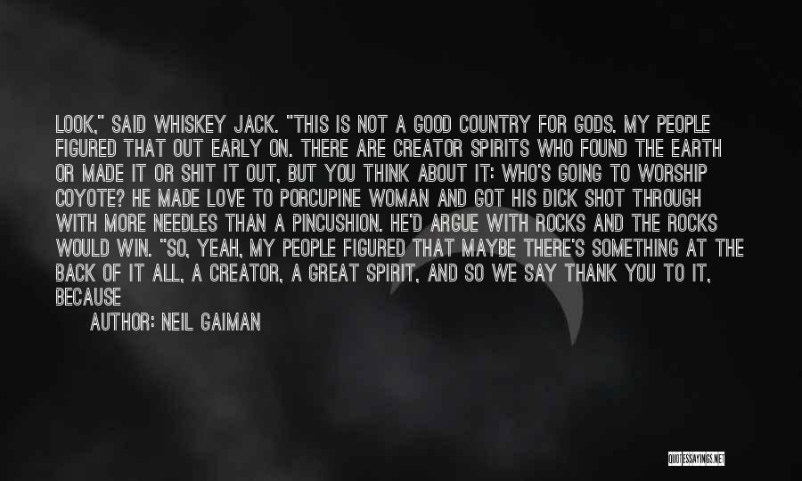 Argue And Love Quotes By Neil Gaiman