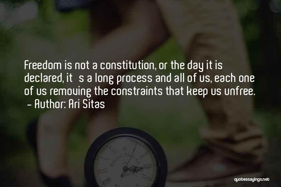 Ari Sitas Quotes 556218