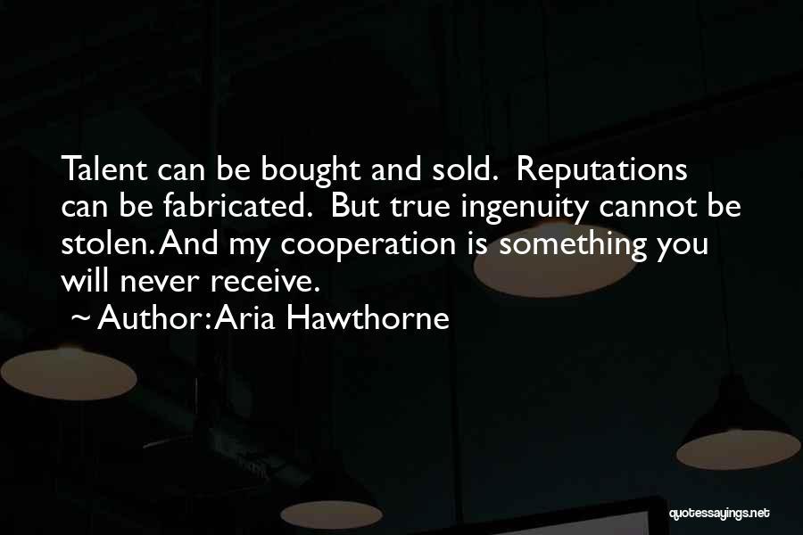 Aria Hawthorne Quotes 308114