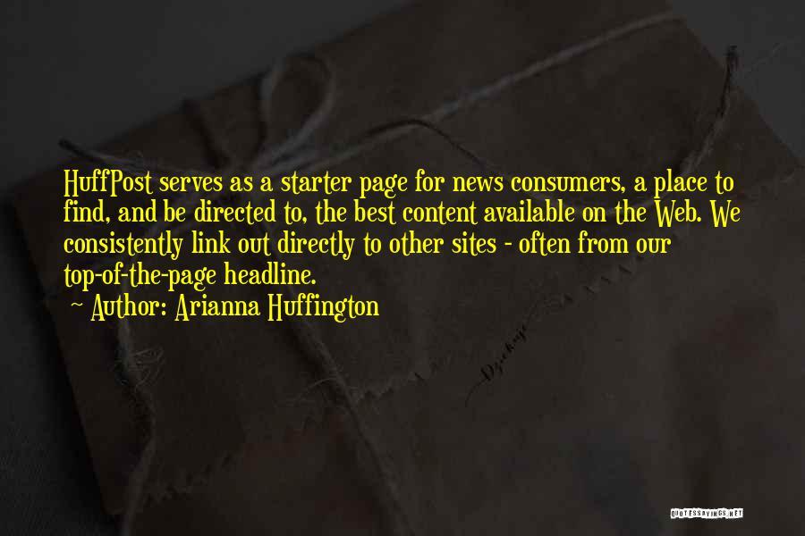 Arianna Huffington Quotes 822140
