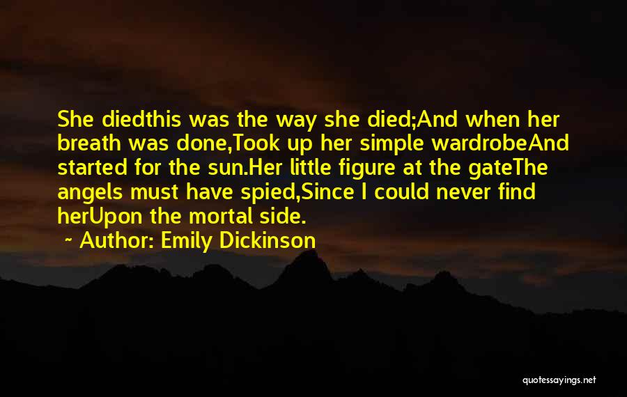 Arias Quotes By Emily Dickinson