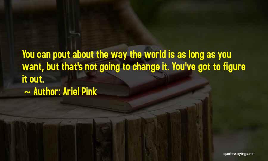 Ariel Pink Quotes 1608680