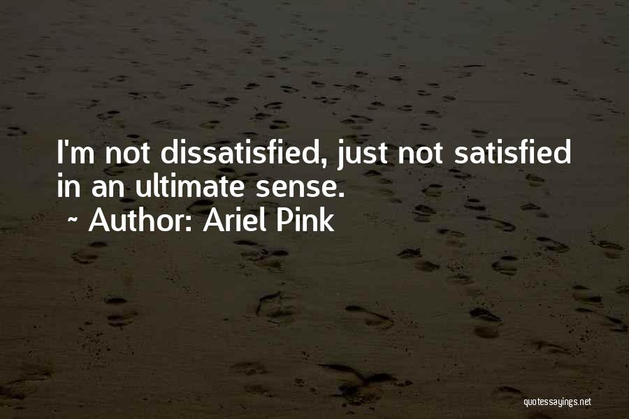 Ariel Pink Quotes 1627107