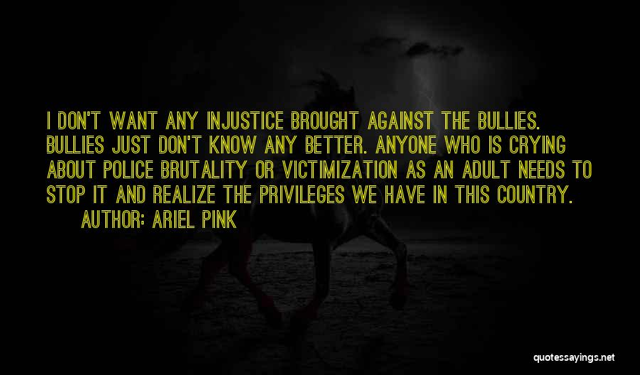 Ariel Pink Quotes 303608