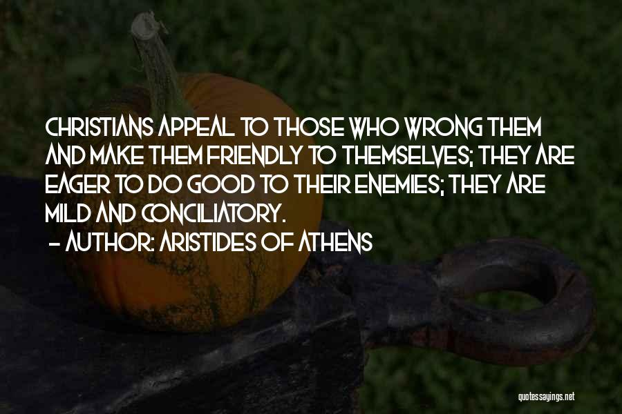Aristides Of Athens Quotes 1381090