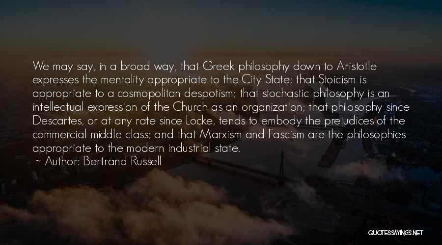 Aristotle Philosophies Quotes By Bertrand Russell