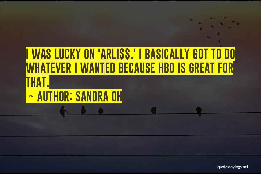 Arli$$ Quotes By Sandra Oh