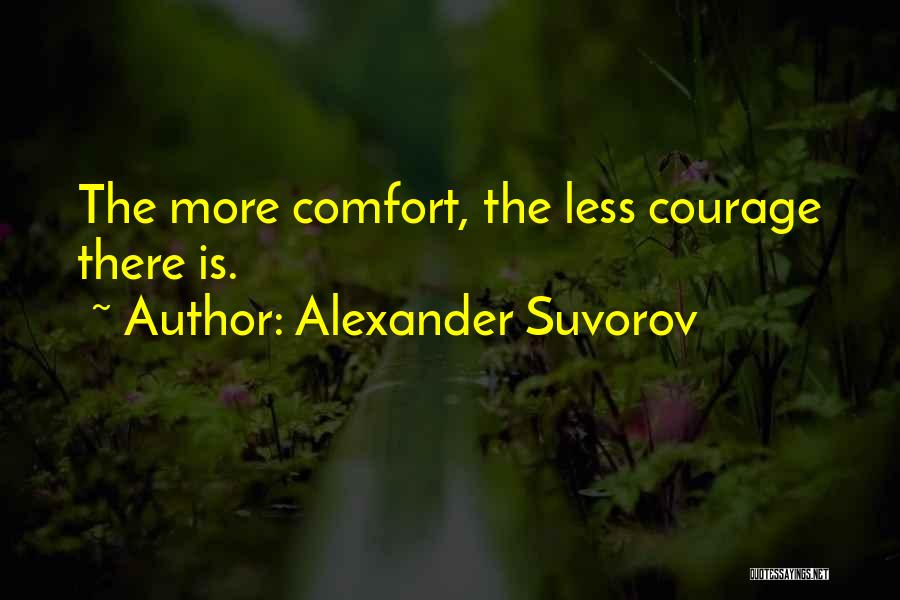 Armed Forces Day Quotes By Alexander Suvorov