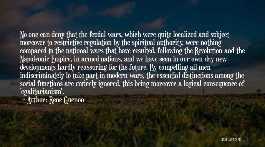 Armed Revolution Quotes By Rene Guenon