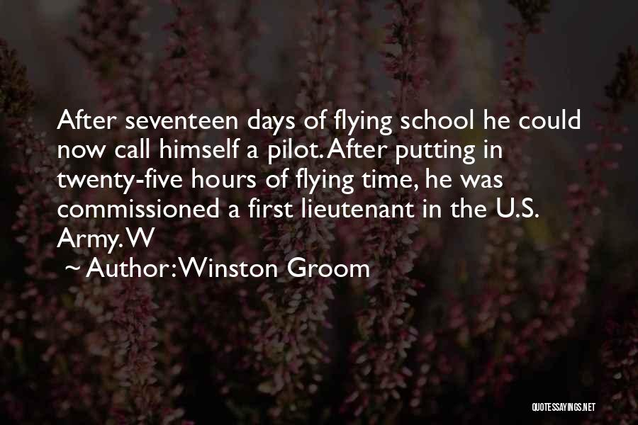 Army Lieutenant Quotes By Winston Groom
