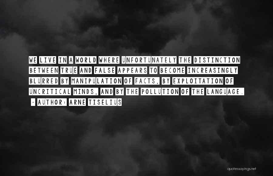 Arne Tiselius Quotes 295342