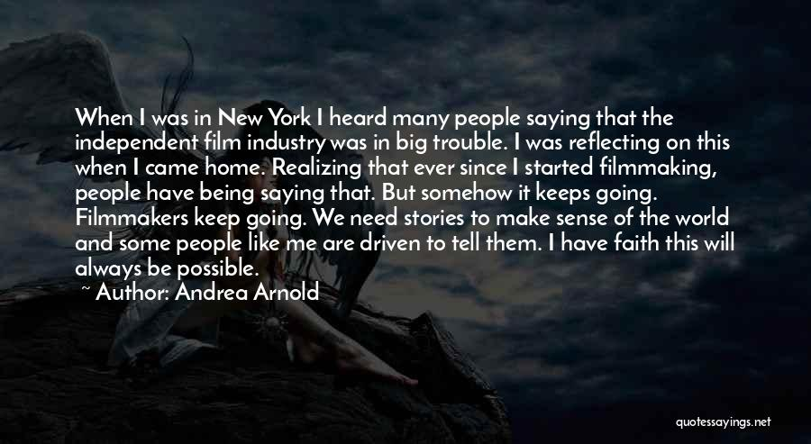 Arnold Quotes By Andrea Arnold