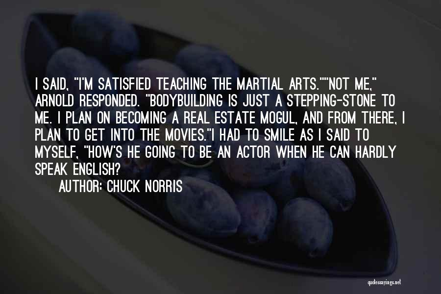 Arnold Quotes By Chuck Norris