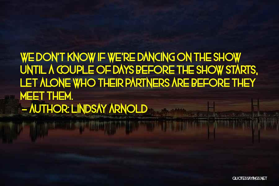 Arnold Quotes By Lindsay Arnold