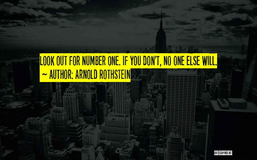 Arnold Rothstein Quotes 303261