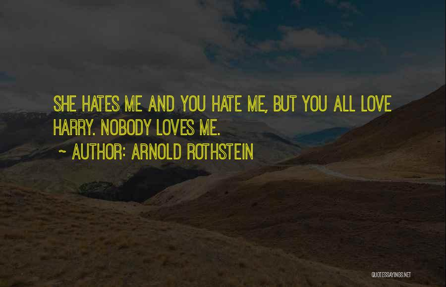 Arnold Rothstein Quotes 717727