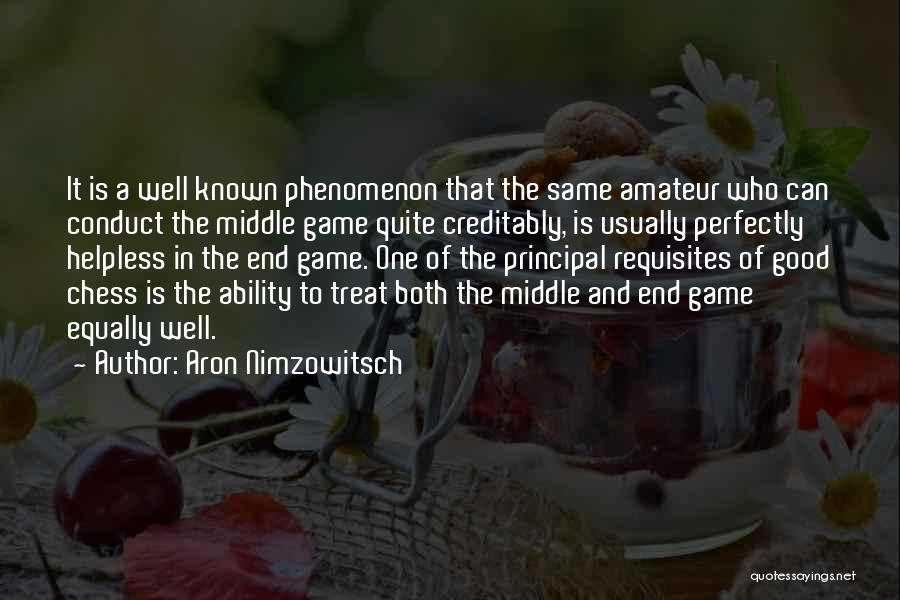Aron Nimzowitsch Quotes 1178675
