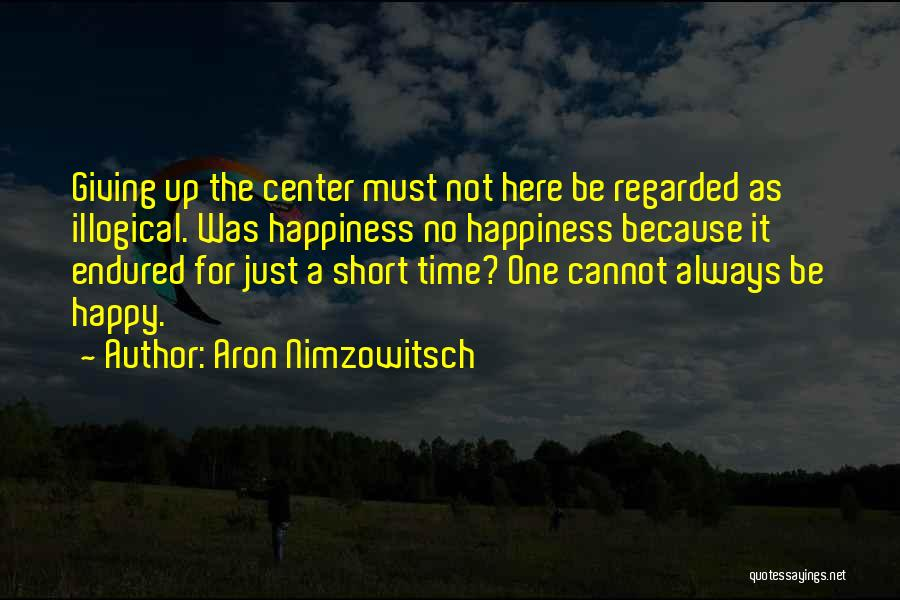 Aron Nimzowitsch Quotes 1973306