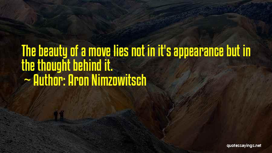 Aron Nimzowitsch Quotes 675232