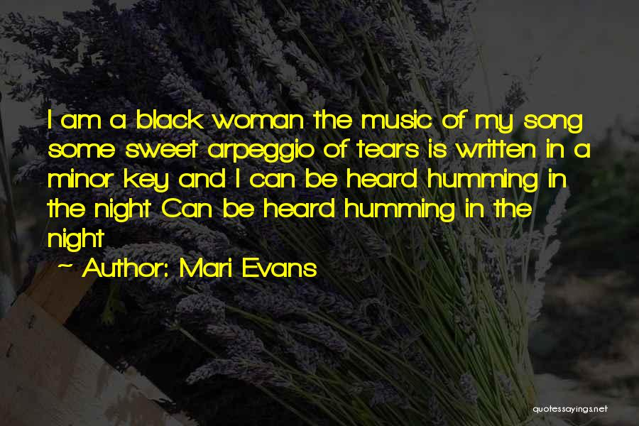 Arpeggio Quotes By Mari Evans