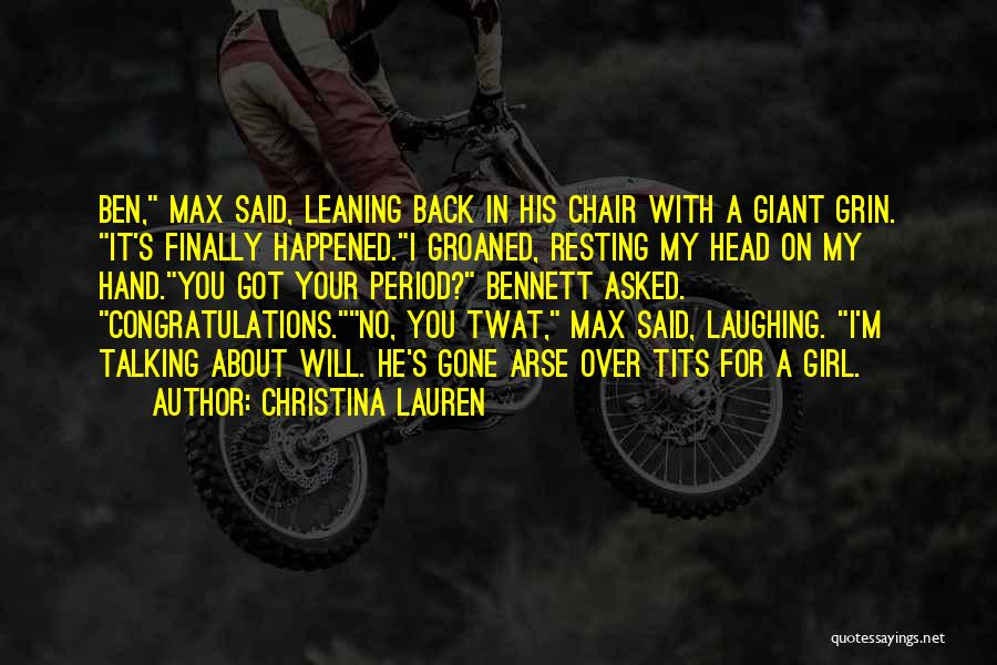 Arse Quotes By Christina Lauren