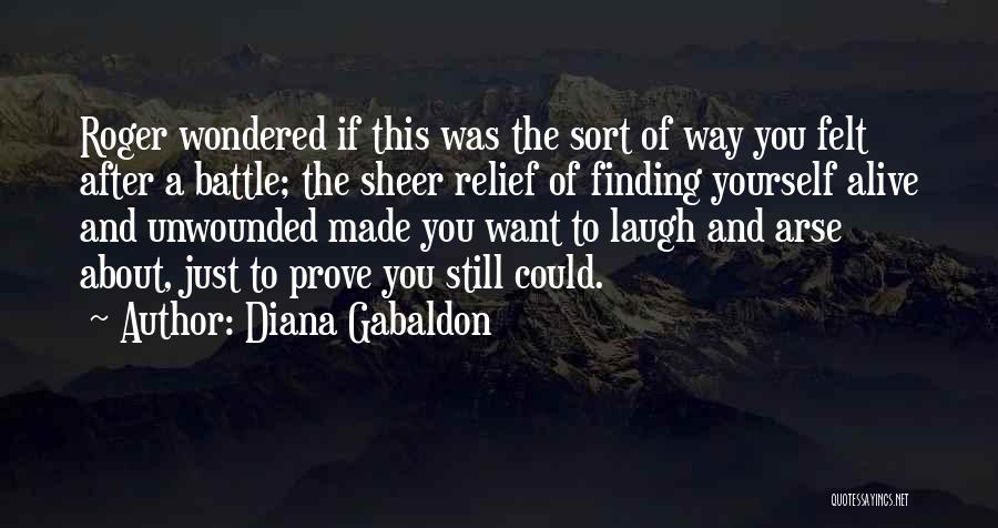 Arse Quotes By Diana Gabaldon