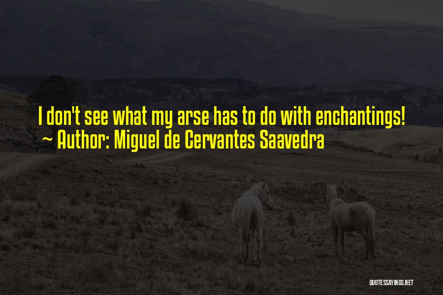 Arse Quotes By Miguel De Cervantes Saavedra