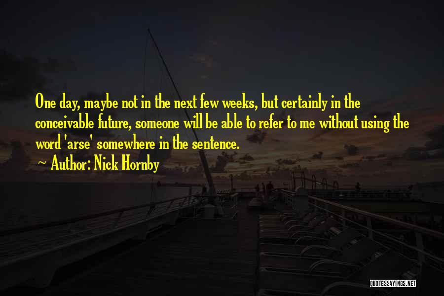 Arse Quotes By Nick Hornby
