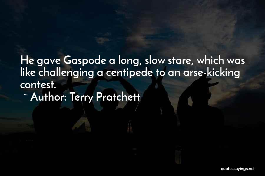Arse Quotes By Terry Pratchett