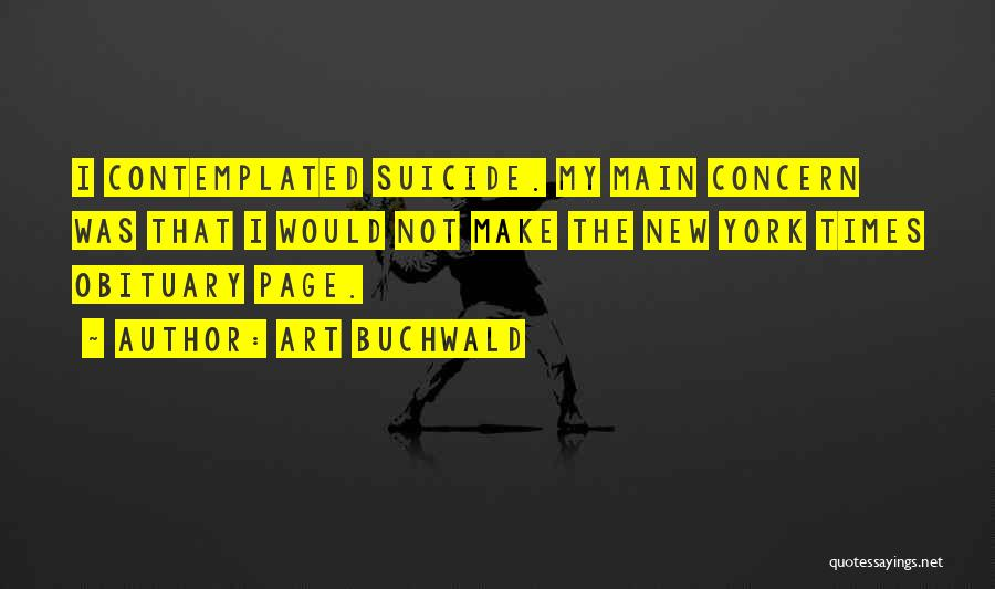 Art Buchwald Quotes 126188