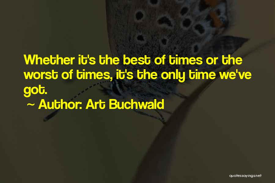 Art Buchwald Quotes 1862590