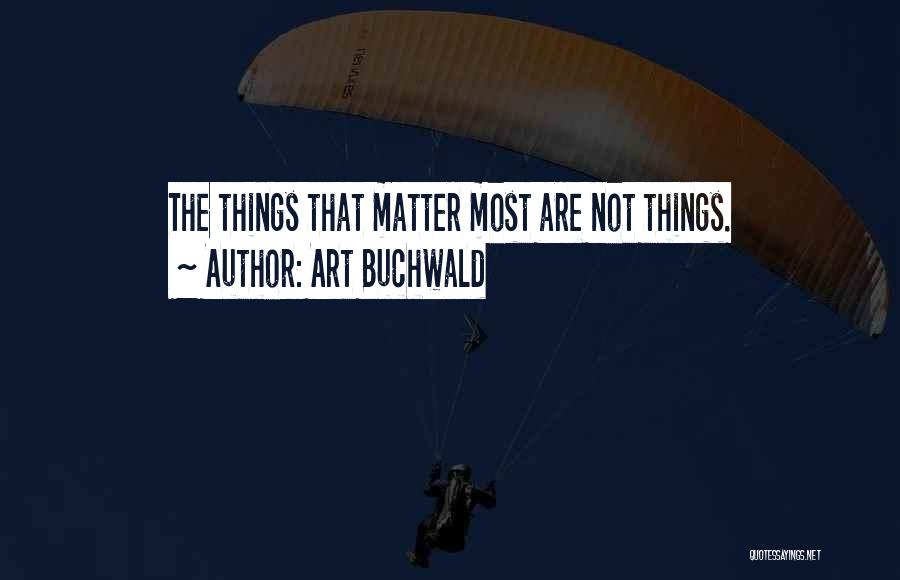 Art Buchwald Quotes 1890355
