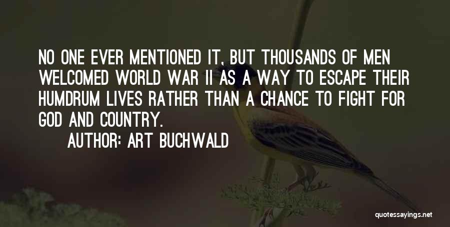 Art Buchwald Quotes 1982893