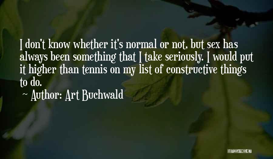 Art Buchwald Quotes 954737
