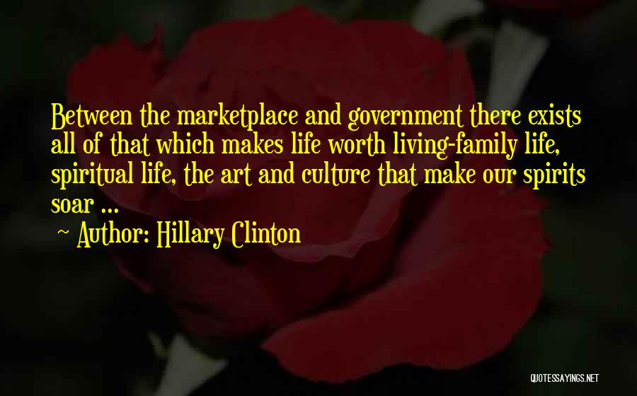 Art Culture Quotes By Hillary Clinton