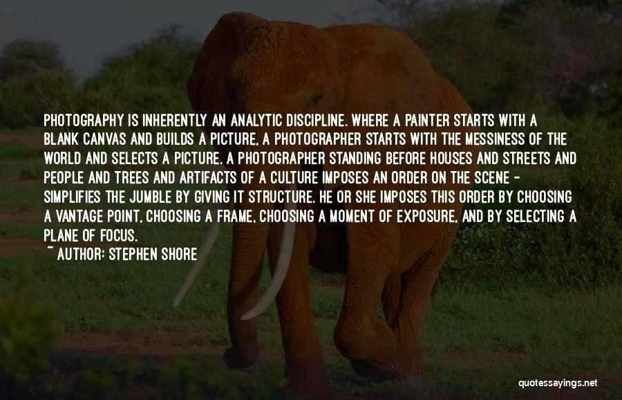 Art Culture Quotes By Stephen Shore