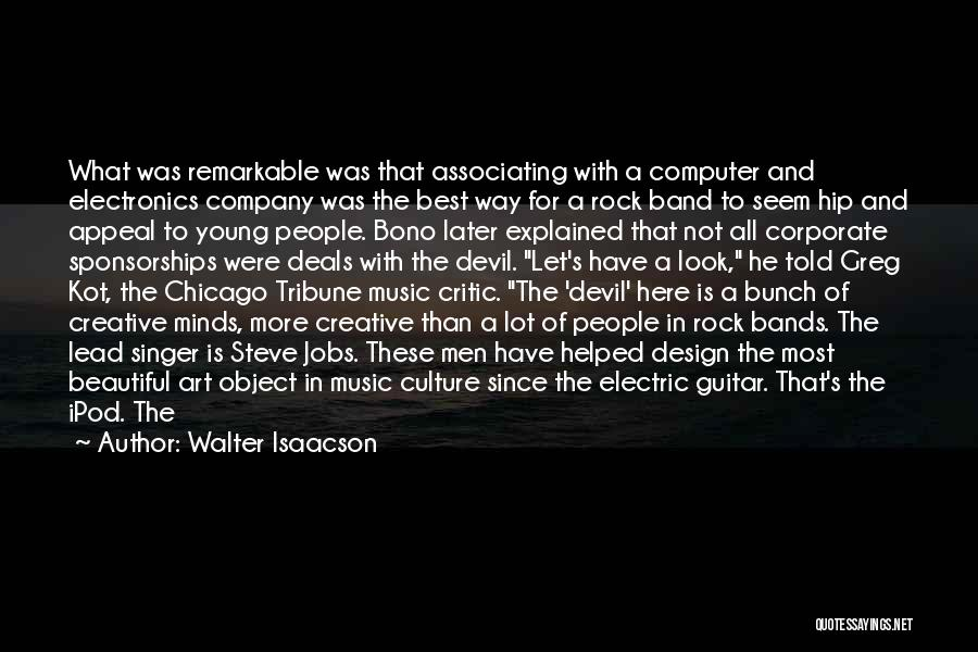 Art Culture Quotes By Walter Isaacson