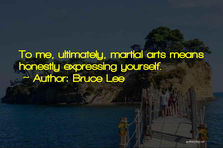 Art Express Quotes By Bruce Lee