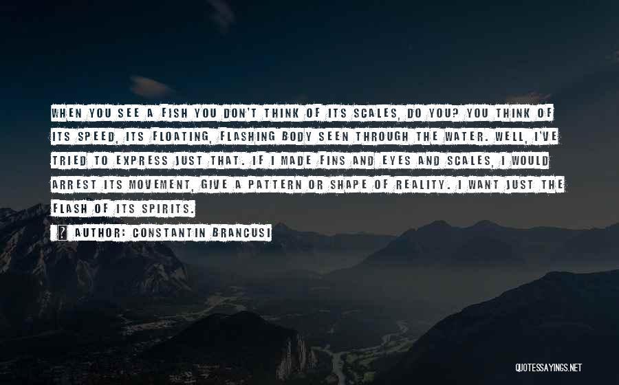 Art Express Quotes By Constantin Brancusi