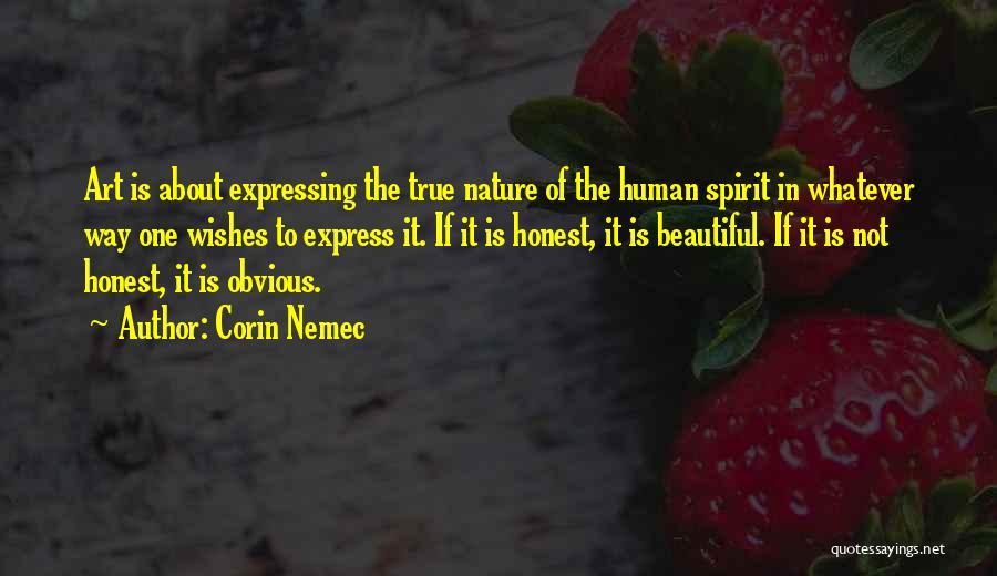 Art Express Quotes By Corin Nemec