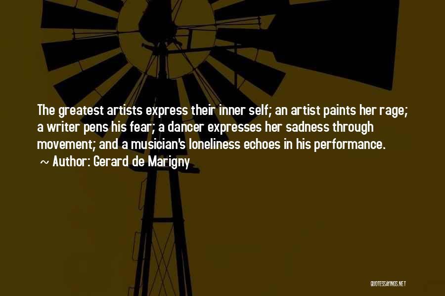 Art Express Quotes By Gerard De Marigny