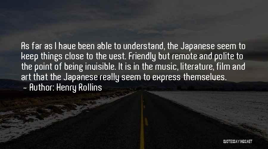 Art Express Quotes By Henry Rollins