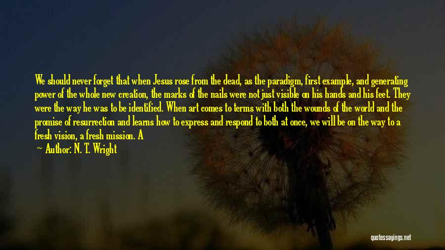 Art Express Quotes By N. T. Wright